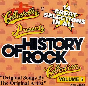 History Of Rock N Roll Vol. 5 History Of Rock N Roll History Of Rock N Roll