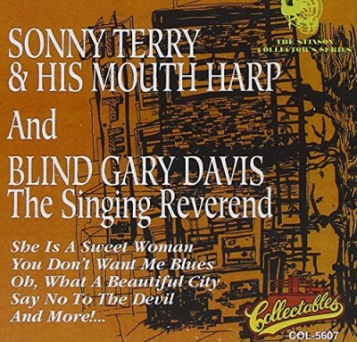 Terry Davis Sonny Terry & His Mouth Harp &
