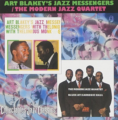 Art & Jazz Messengers Blakey Jazz Messengers With Theloniou 2 Artists On 1
