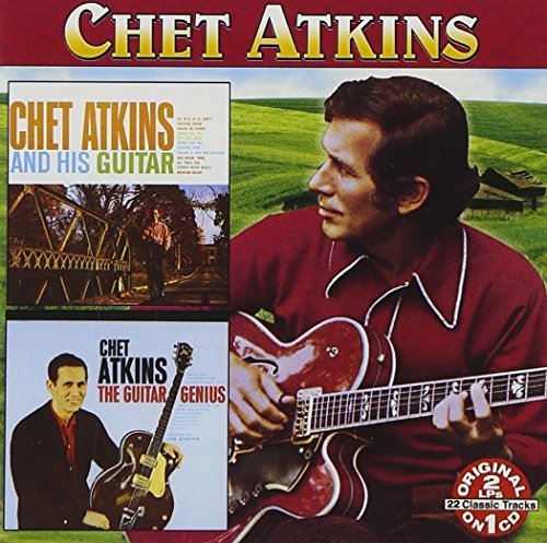 Chet Atkins Chet Atkins & His Guitar Early 2 On 1