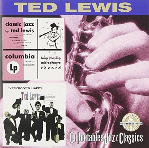 Ted Lewis Classic Jazz Everybody's Happy 2 On 1