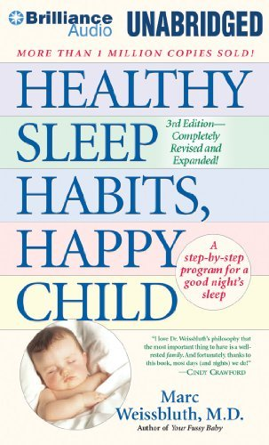 Marc Weissbluth Healthy Sleep Habits Happy Child 0003 Edition;revised Expand