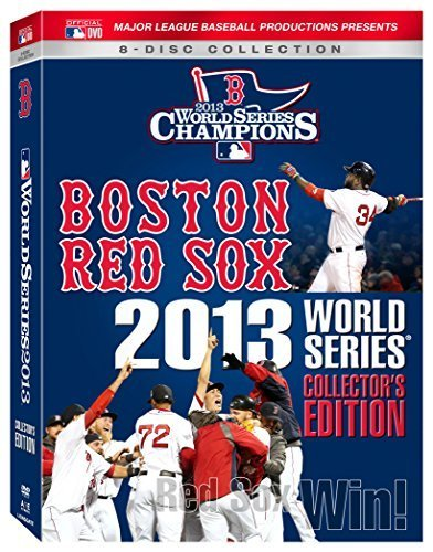 Boston Red Sox 2013 World Series Collector's Set DVD Nr Collectors Edition 8 Disc