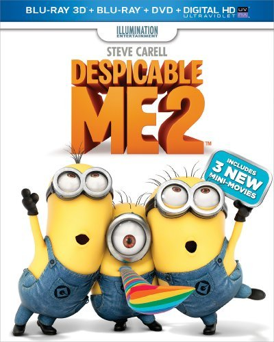 Despicable Me 2 3d Despicable Me 2 Blu Ray 3d Ws Pg DVD Dc Uv