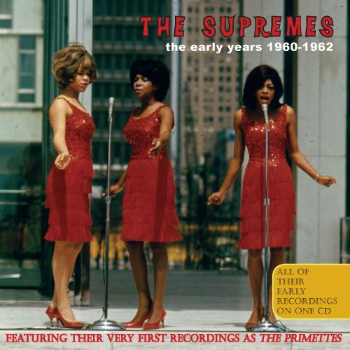 Supremes Early Years 1960 62 Import Gbr