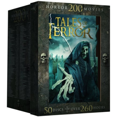 Tales Of Terror 200 Classic Horror Movies DVD R 50 Disc