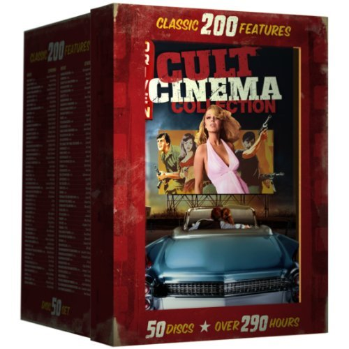 Drive In Cult Classics 200 Film Collection DVD R 50 Disc