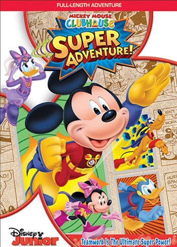 Super Adventure Mickey Mouse Clubhouse Ws Tvy Incl. Trading Cards