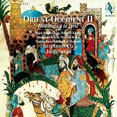 Savall Hesperion Xxi Orient Occident Ii Hommage A L Sacd