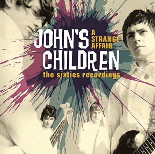 John's Children Strange Affair Sixties Antholo Import Gbr 2 CD