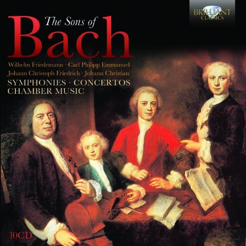 Bach Sons Of Bach Symphonies Conce Sons Of Bach Symphonies Conce 10 CD
