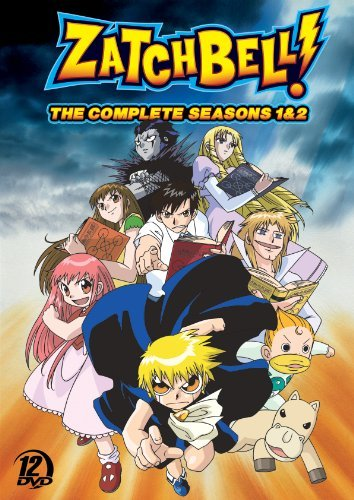Zatch Bell Season 1 2 DVD Nr