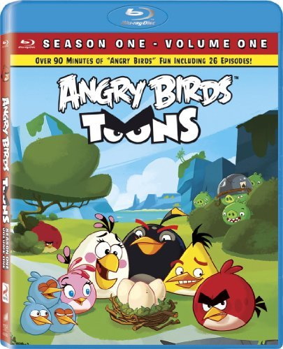 Angry Birds Toons Volume 1 Blu Ray Nr