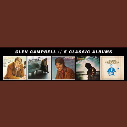 Glen Campbell 5 Classic Albums 5 CD