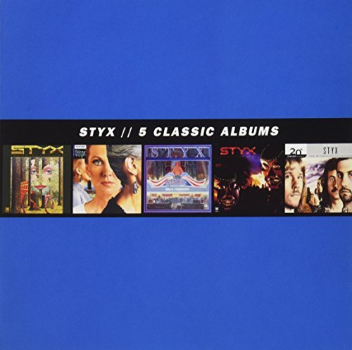 Styx 5 Classic Albums 5 CD