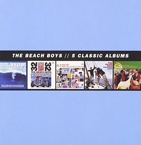 Beach Boys 5 Classic Albums 5 CD