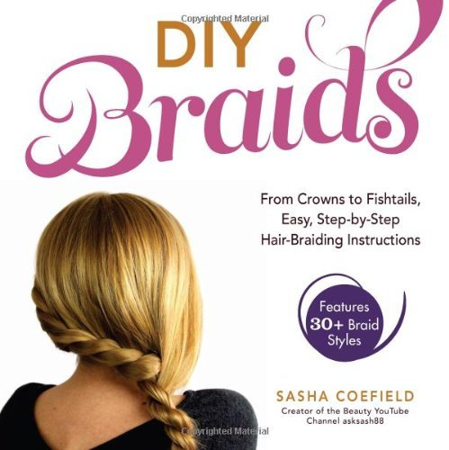 Sasha Coefield Diy Braids From Crowns To Fishtails Easy Step By Step Hair