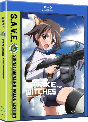 Strike Witches Season 1 Blu Ray DVD Tvma