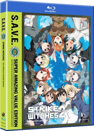 Strike Witches Season 2 Blu Ray DVD Tvma