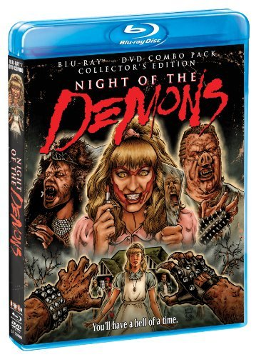 Night Of The Demons Collector's Edition Blu Ray DVD Nr Ws