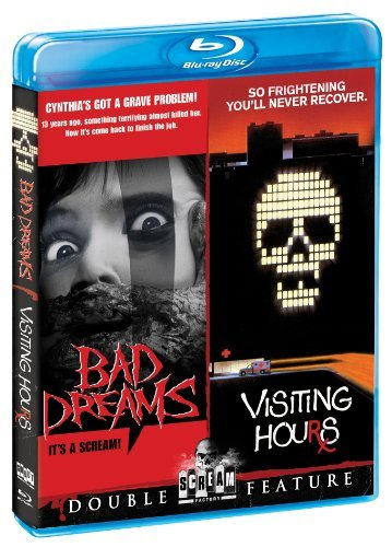 Bad Dreams Visiting Hours Double Feature Blu Ray R Ws