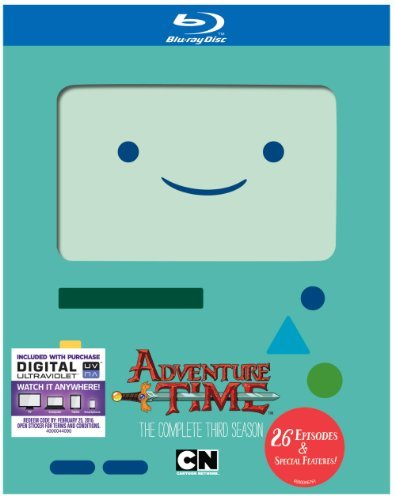 Adventure Time Season 3 Blu Ray Nr
