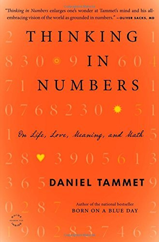 Daniel Tammet Thinking In Numbers On Life Love Meaning And Math