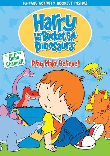 Harry & His Bucket Full Of Dinosaurs Play Make Believe DVD Tvg Fs
