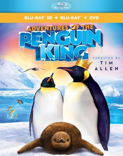 Adventures Of The Penguin King Allen Tim Blu Ray DVD Pg Ws