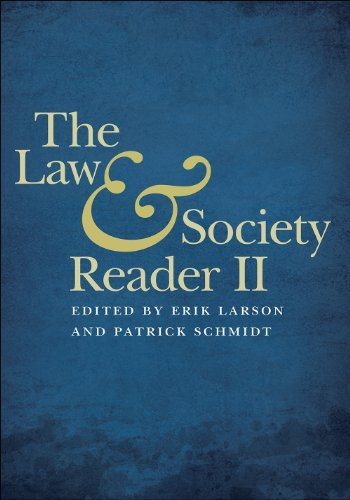 Erik Larson The Law & Society Reader Ii