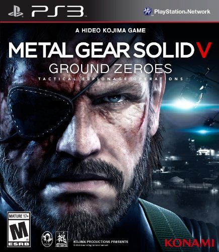 Ps3 Metal Gear Solid V Ground Zeroes Konami M