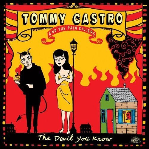 Tommy & The Painkillers Castro Devil You Know 180gm Red Colored Vinyl Incl. Digital Download