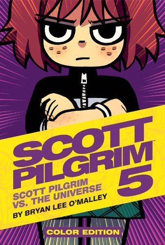 Bryan Lee O'malley Scott Pilgrim Color Hardcover Volume 5 Scott Pilgrim Vs. The Universe