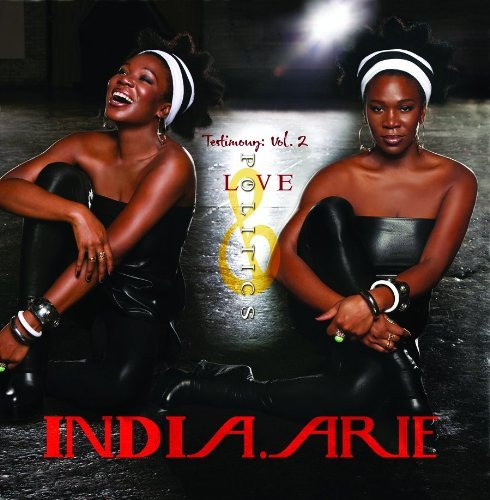 India.Arie Vol. 2 Testimony Love & Polit 2 Lp