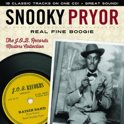 Snooky Pryor Real Fine Boogie The J.O.B. Re