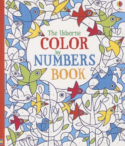 Fiona Watt The Usborne Color By Numbers Book