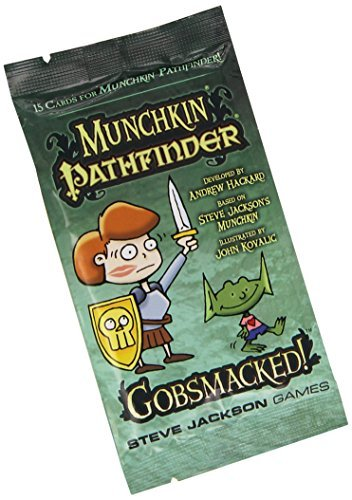 Stev Jackson Games Munchkin Pathfinder Gobsmacked Expansion