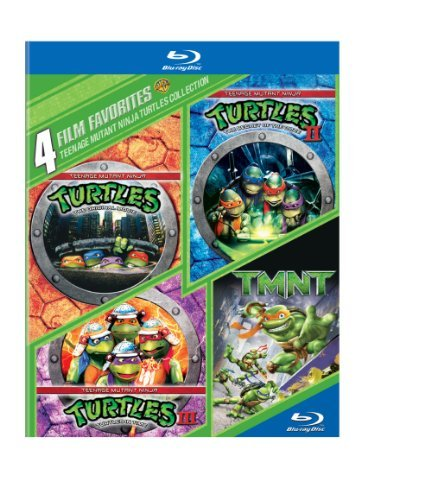 4 Film Favorites Teenage Mutant Ninja Turtles Blu Ray Ws Pg