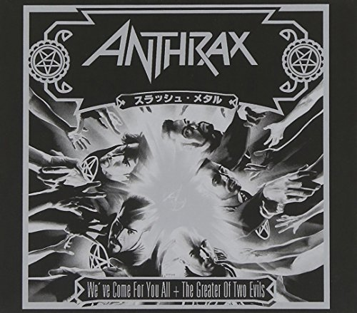 Anthrax We've Come For You All + Great Import Gbr 2 CD