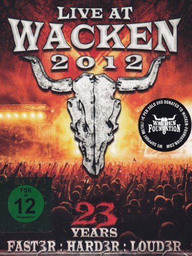 Live At Wacken 2012 Live At Wacken 2012 3 DVD