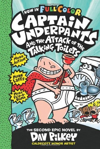 Dav Pilkey Captain Underpants And The Attack Of The Talking T Color