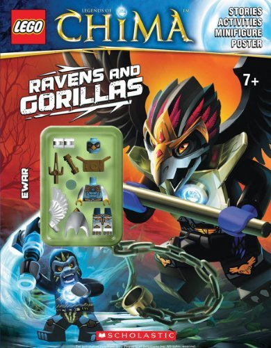 Ameet Studio Lego Legends Of Chima Ravens And Gorillas (activity Book #3)