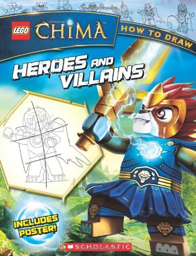 Ron Zalme How To Draw Heroes And Villains [with Poster]