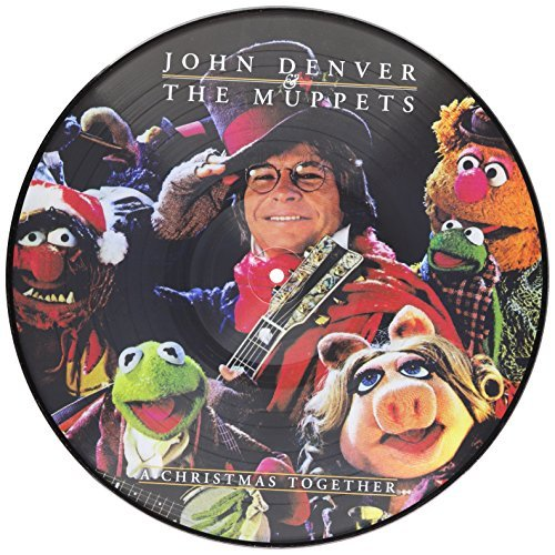 John & The Muppets Denver Christmas Together Picture Disc