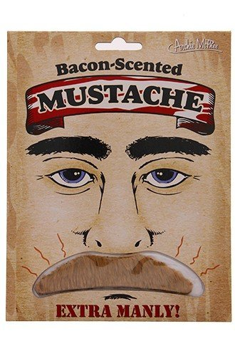 Gift Bacon Scented Mustache