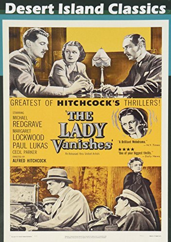 Lady Vanishes (1938) Lockwood Redgrave Bw DVD R Pg