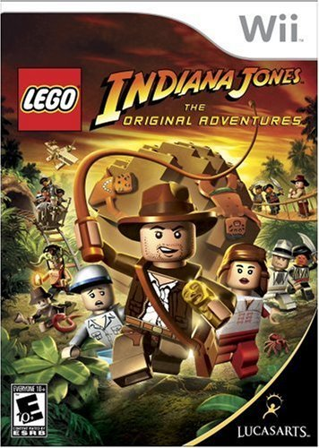 Wii Lego Indiana Jones The Origina Disney Interactive Distri E
