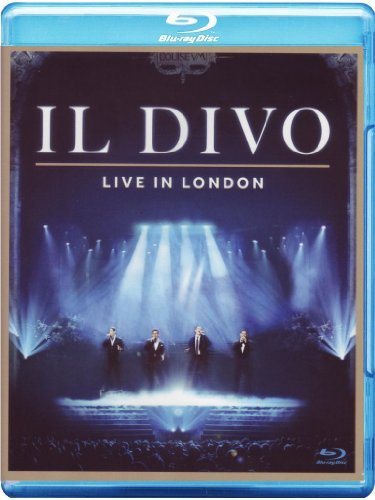 Live In London (blu Ray) Il Divo Blu Ray Import Eu