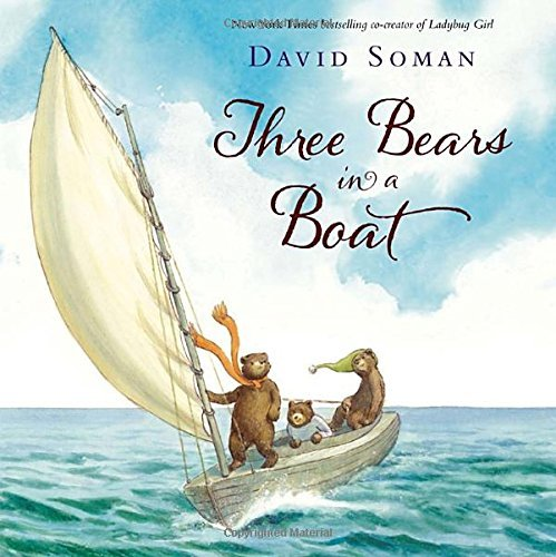 David Soman Three Bears In A Boat