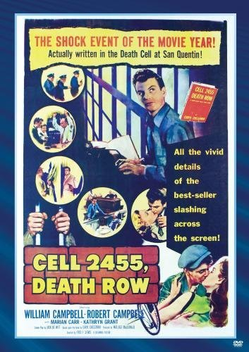 Cell 2455 Death Row Campbell Carr Grant Bw DVD R Nr